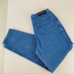 Gitano High-rise Tapered Mom Jeans